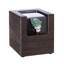 Portable Repair Single Watch Winder With Quiet Motor Wooden Storage Box Practical Automatic Watches Rotation Mode Professional