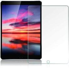 9H temperli cam ekran koruyucu için Ipad Mini 2 3 4 5 hava 1 2 2017 2018 9.7 Pro 11 10.5 10.2 2019 kabarcık ücretsiz koruma filmi