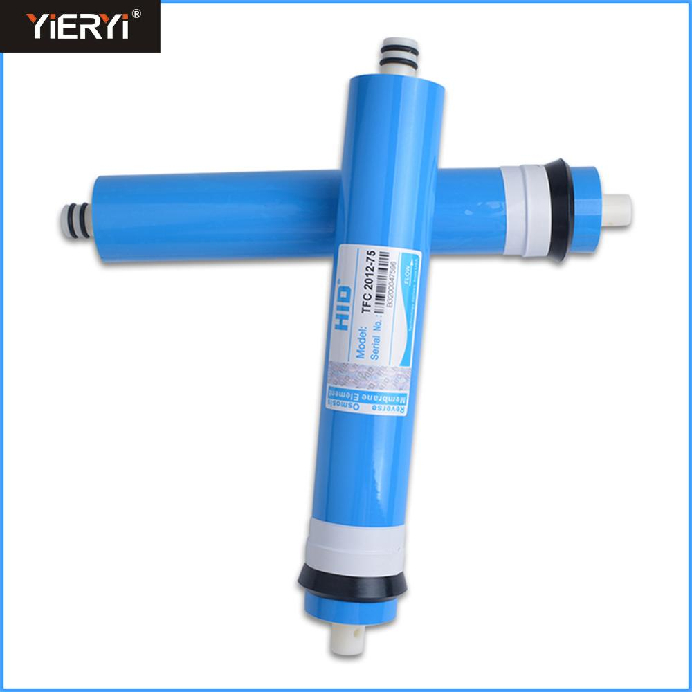 Yieryi HID TFC-2012-50/75 Residential Water Filter 50/75gpd RO Membrane NSF Used For Reverse Osmosis System