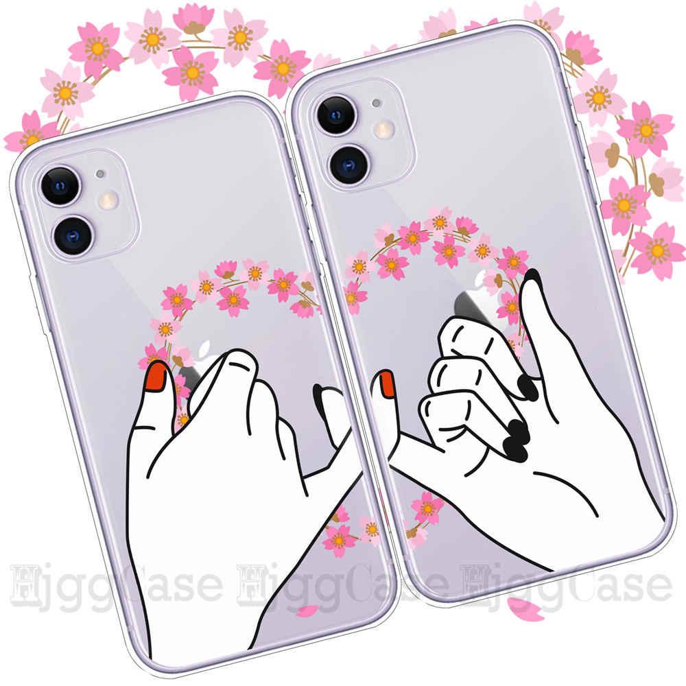 Filles Bff Meilleur Amis Pour Toujours Doux coques de téléphone Pour iPhone 11 Pro max 7 6 6S 8 Plus Coque X XR XS MAX 5S SE Mignon Capinha