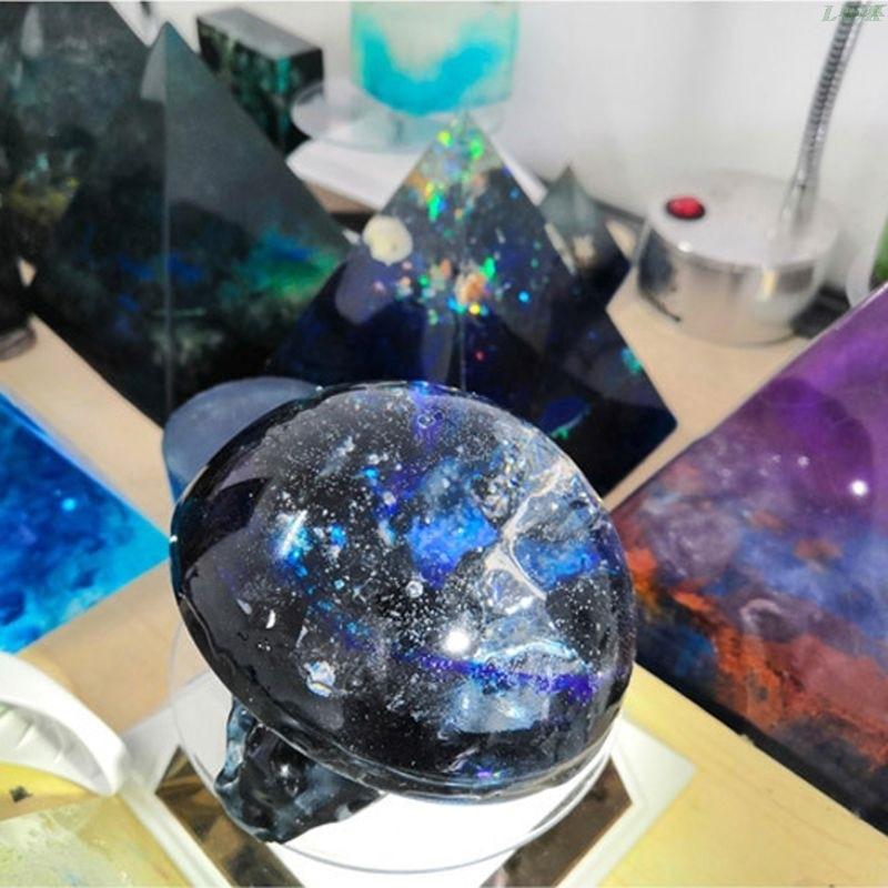 13 Colors Epoxy UV Resin Coloring Dye Liquid Epoxy Pigment Resin Colorant Fading Resistance10ml Translucent PXPC 3