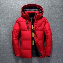New Winter Jacket Men High Quality Fashion Casual Coat Hood Thick Warm Waterproo
