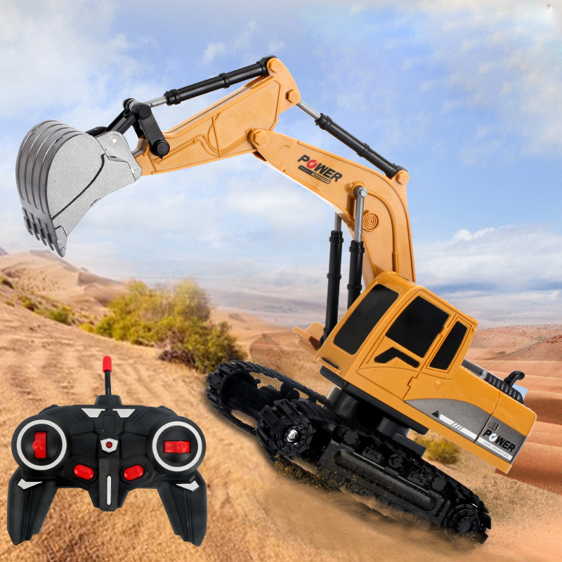 Remote Controlled Kids Indoor Outdoor 11 Channel RC Digger Garden Toys Gift