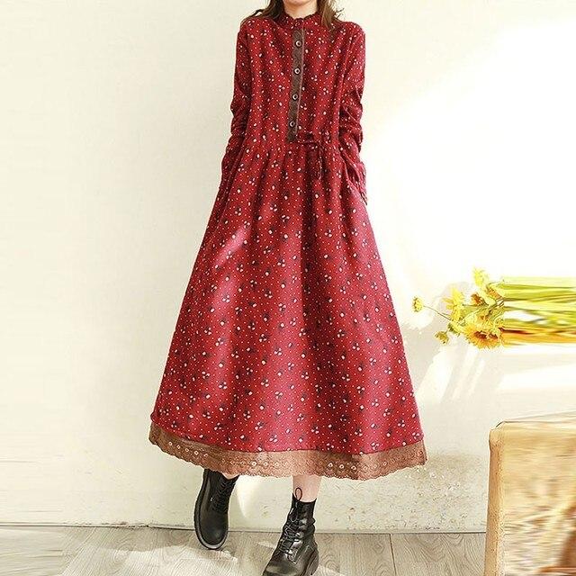 comfortable. two layer polka dot dress 3