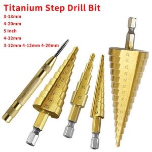 HSS Steel Titanium Step Drill