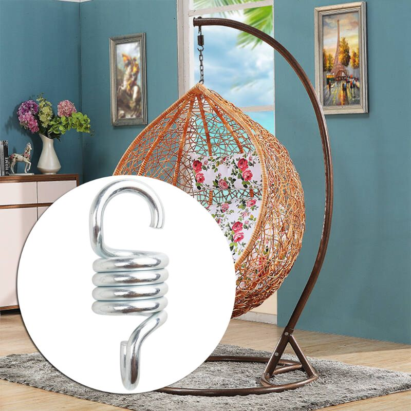 500lb Weight Capacity Sturdy Steel Hammock Extension Spring for Hanging Swing Chair Heavy Duty