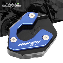 2020 NEW For YAMAHA NIKEN 2018 2020 NIKEN GT 2019 2020 Motorcycle CNC Kickstand Foot Side Stand Extension Pad Support Plate