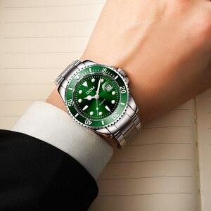 Image 5 - DOM นาฬิกา Casual ธุรกิจนาฬิกาผู้ชายสีเขียวยี่ห้อของแข็งนาฬิกาข้อมือนาฬิกาผู้ชายนาฬิกาแฟชั่นนาฬิกาข้อมือกันน้ำ M 1263