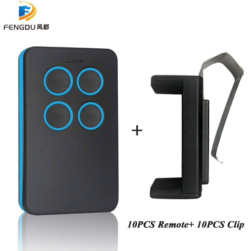 10pcs wireless <font><b>remote</b></font> control <font><b>rolling</b></font> <font><b>code</b></font> <font><b>duplicator</b></font> rc <font><b>remote</b></font> control car with Car Sun Visor Clip Holder image