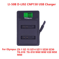 5pcs USB Port Digital Camera Battery Charger For Olympus LI 50B/D L192 BLN 1 BLS 1/BLS 5
