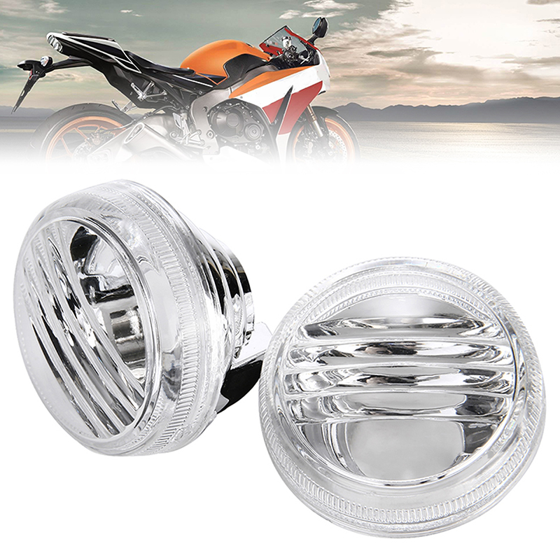 For Suzuki 1Pair Clear Turn Signal Lamp Lens Support Cruisers 04-07 Boulevard VZR1800 VL1500 C90 VL800 C50 VLR1800 C109R TREYUES
