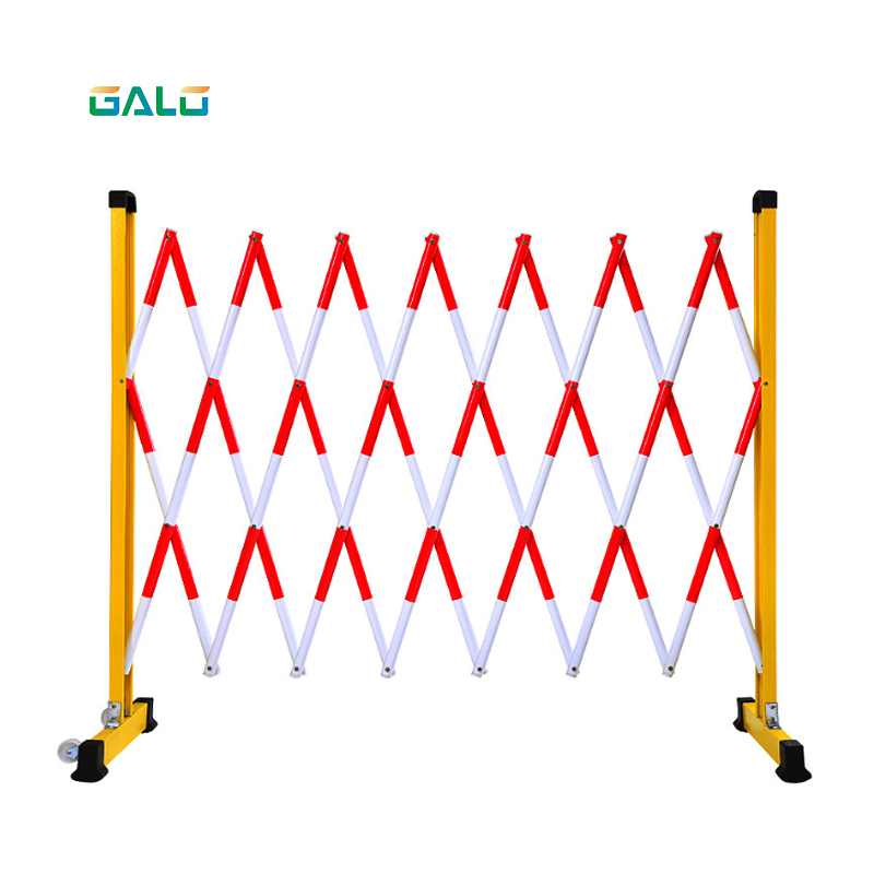 FRP Outdoor Temporary Parking Retractable Scissor Fence Crowd Control Safety Traffic Folding Expanding Barrier
