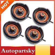 4 חתיכות מנוע שסתום האוויר Caps כיסוי Fit עבור BMW E60 E65 E66 E70 E83 E88 E91 E92 F10 N52 128i 328i 528i X3 X5 Z4 OEM 11127552281