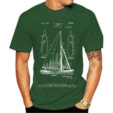 Sailboat Shirt Sailing Shirt Nautical Gift Sailboat Blueprint Ocean Racing
