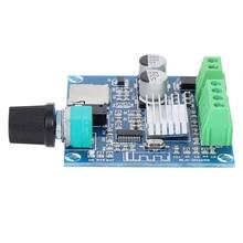 Digital Amplifier Board Adjustable Volume Dual Channel for Bluetooth Memory Card AUX Amplifier Board Module dc 12 24v 15 15w digital amplifier board module volume adjustable dual channel
