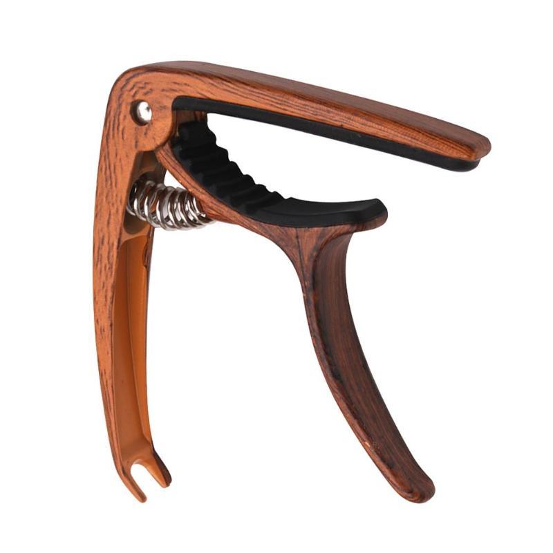 Гитара под дерево, капо, высококачественный сплав цинка, многофункциональный портативный музыкальный инструмент, акустическая укулеле, быстросменный зажим