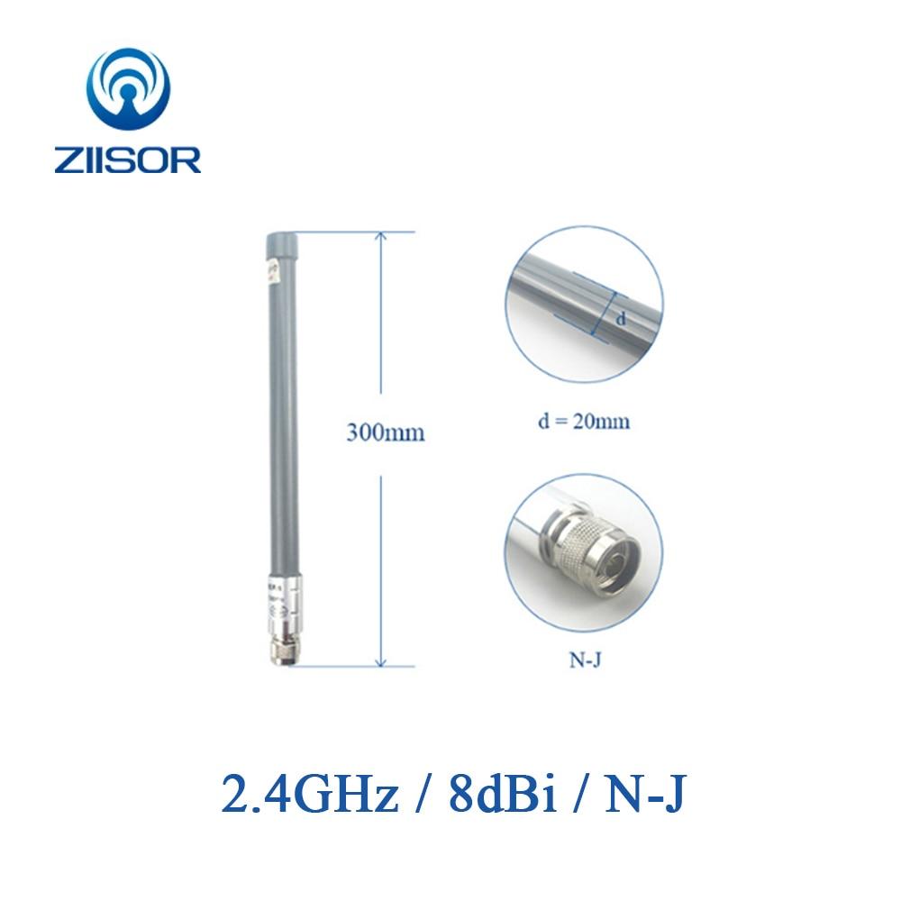 Outdoor 2.4GHz Router Antenna Wifi N Male Omni Antenna Waterproof High Gain Antena Signal Amplifier 2400M TX2400-BLG-30