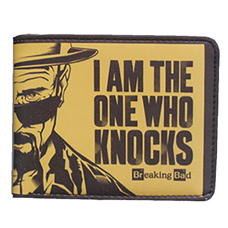 Breaking Bad Wallet Mens Women Faux Leather Coin Purse Unisex Wallets ID/Credit Card Holder image