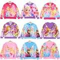 Пальто Снежной королевы, куртка Холодное сердце, Анна, Эльза, принцесса, колокольчик, Спящая красавица, Золушка, пальто с капюшоном, детская ...