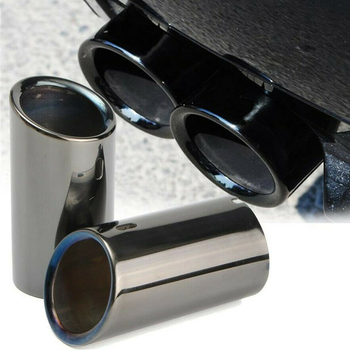 Car Exhaust pipes Tailpipes For BMW E90 E92 325i 328i Parts Accessories image