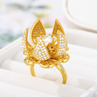Flocaw Mechanical Flower Blooming Ring 3