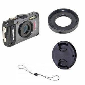 Image 1 - Filter Mount Adapter Ring lens cap keeper for Olympus TG 6 TG 5 TG 4 TG 3 TG 2 TG 1 TG6 TG5 TG4 TG3 TG2 TG1 Digital Camera