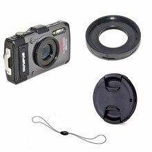 Filtro Anel Adaptador Mount lens cap keeper para Olympus TG 6 TG 5 TG 4 TG 3 TG 2 TG 1 TG6 TG5 TG4 TG3 TG2 TG1 Câmera Digital
