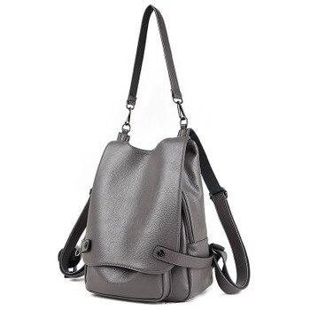 Genuine cowhide casual travel bag fashion shoulder bag messenger bag designer bag women's bag