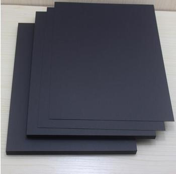 50pcs 250gsm A4 black paper(sample) kraft paper card DIY invitation card paper cardboard paper a4