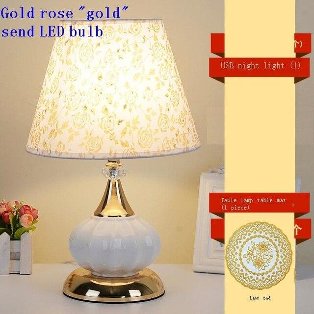 Casa Mariage Noche Lampe Chevet Chambre Lampada Comodino Deco Maison Abajur Quarto Lampara De Mesa Para El Dormitorio Table Lamp Table Lamps Aliexpress