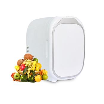12V Refrigerator Freezer Heater 6L Mini Car Freezer Cooler & Warmer, Electric Fridge Portable Icebox Travel Refrigerator