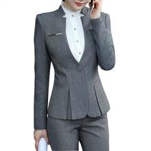 Новые облегающие костюмы, женские, одежда с длинным рукавом, Офисные блейзеры, костюмы для всех женщин, брюки, костюм Femme Traje Mujer
