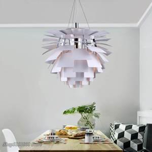 Image 3 - Lámpara Led moderna con forma de pipecón para sala de estar, cocina, Loft, luminaria de decoración Industrial para el hogar