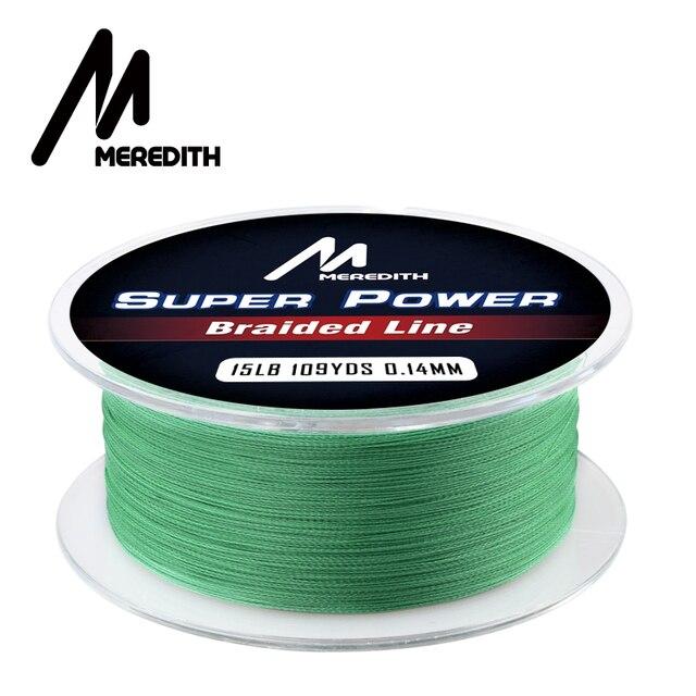 Best MEREDITH Brand Fishing Line 4 Strand Braided Fishing Lines cb5feb1b7314637725a2e7: Blue Gray Green Yellow