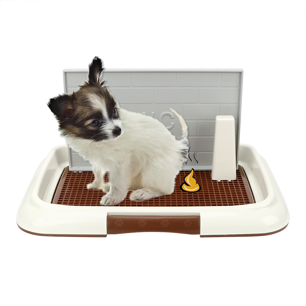 NICEYARD Puppy Litter Tray Bedpan Easy To Clean Pet Toilet Pet Product Pee Training Toilet Lattice Dog Toilet Potty