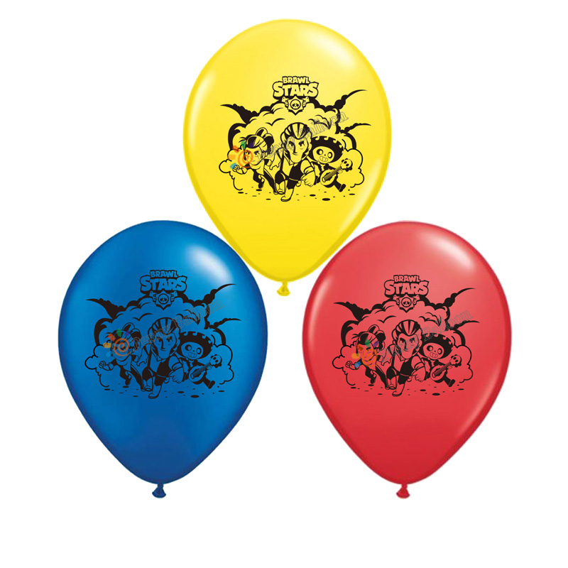 Brawl Balloons Game Latex Balloon Birthday Party Decorations Toys Party Supplies Globos