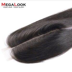 Image 5 - 2X6 סגירת שיער טבעי סגירת 2x6 4x4 13x4 חזיתי תחרה סגירת ישר רמי אור חום תחרה ברזילאית אמצע חלק סגירה