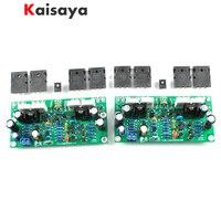 2 uds L20 SE 350W Placa de amplificador de Audio TOSHIBA A1943 C5200 Dual amplificadores de canales kit de bricolaje y tablero terminado