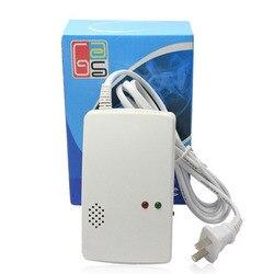 Przenośne bezpieczeństwa w domu samodzielny Alarm gazu palnego detektor wycieku gazu Tester propan metan gazu ziemnego czujnik alarmu bezpieczne