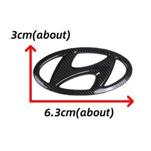 Image 2 - Car Steering Wheel Emblem Sticker for 2021 New Hyundai Fit for Hyundai 2021 Elantra