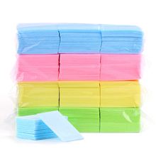 Towel Makeup-Tool Nail-Art Cotton-Pads Lint-Free wipes Polish-Remover Cleaning-Napkins