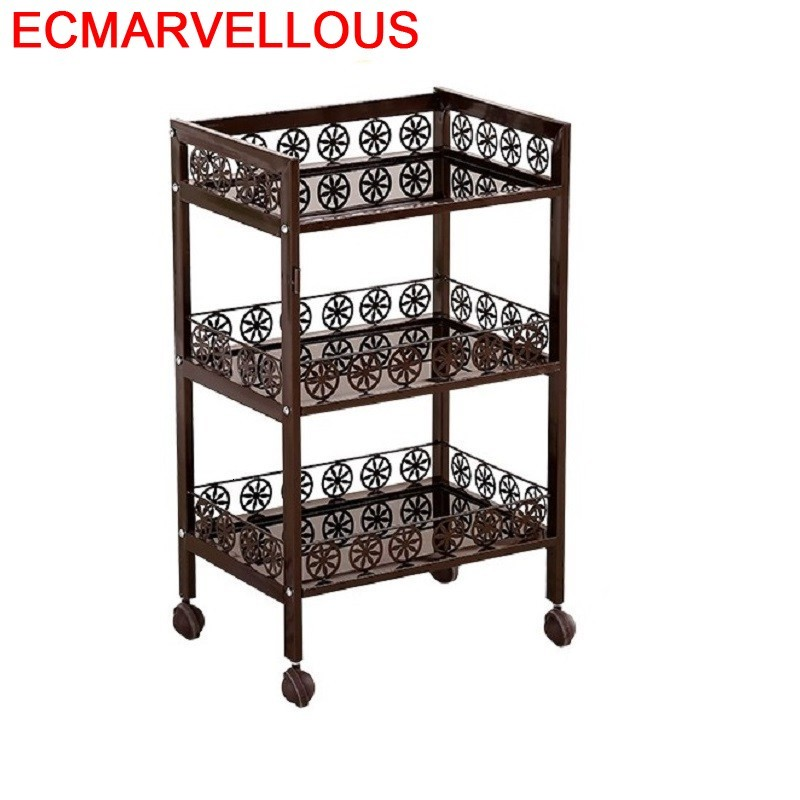 Cocina Mensola Bathroom Organizer Repisas Rack Cutlery Holder Estanteria Estantes With Wheels Trolleys Kitchen Storage Shelf