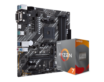 Asus PRIME B550M-K motherboard+R5 3500X/R5 3600/R7 3700X set