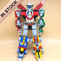 In Stock 16057 Ideas Series Voltron Defender of The Universe Model 2334Pcs Building Block Bricks Toys Compatible with 21311