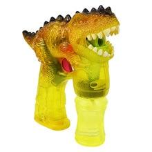 Soap Water Dinosaur Shape Interactive Bubble Blower Parent Child Playing Handheld Kids