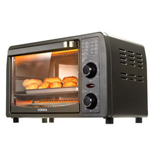 Konka 13l forno elétrico multifunções mini forno máquina de café da manhã frigideira casa pão pizza cozimento para cozinha forno