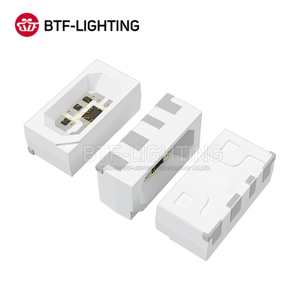 BTF6812RGB SIDE-A (similar with WS2812B) 1500pcs 4020 SMD Pixels LED Chip 0.1W/PCS Individually Addressable Full Color DC 5V