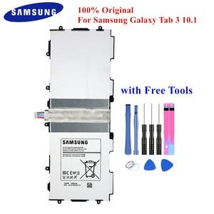 "Image 1 - 100% מקורי לוח סוללה T4500E עבור Samsung Galaxy Tab 3 10.1 ""GT P5210 P5200 P5220 P5213 6800mAh Akku עם משלוח כלים"