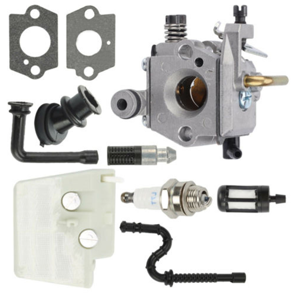 Carburetor Air Filter Carb Fuel Line Kits Replaces For Stihl 024,026,MS240,MS260