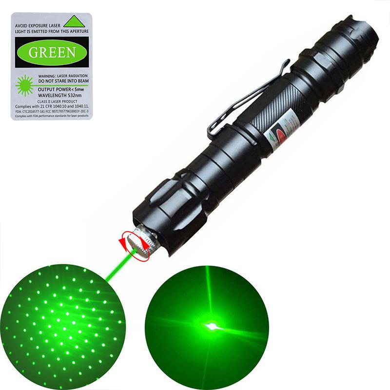 Outdoor 10 Miles Lamp Pen Green Pen Pointer Speech Lamp Laser Laser Beam Light High Power